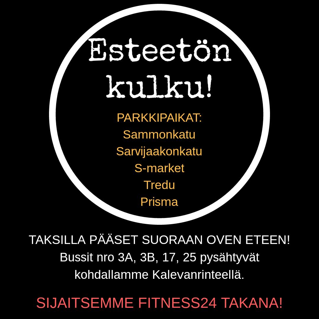 Edullinen hyvä jalkahoitola Tampereella!